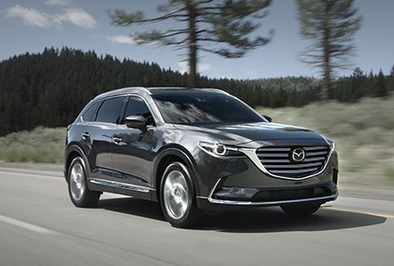 The cx-9 here at Maple Mazda