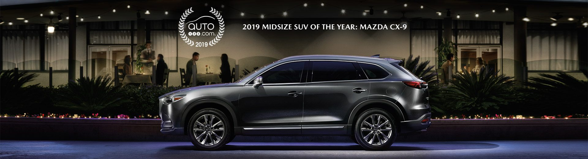 Best mid size cx-9 award