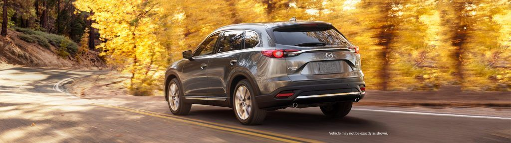 Exterior Rear of the Mazda CX-9